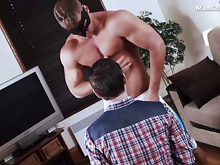 Gay Dude Jerks His Cock for His Bf