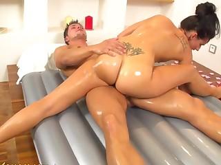 flexi slippery nuru gymnastic