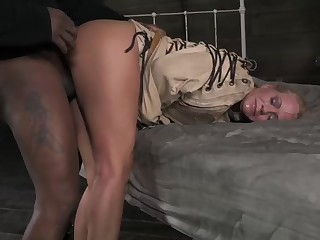 Simone Straight Jacketed and Dicked Down