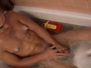Ball Draining Bathtime Jack Off - Zack Randall