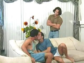 Cute Gay Bottom Sucking a Big Cock