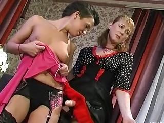 Bridget and Sheila mature lesbian movie