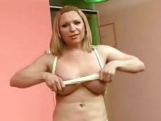 Shemale Karen Showing Off Her Boobs
