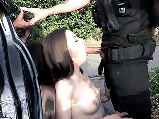 Blackberry Hills Cop Fruit pickers tight pussy fucked hard