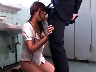 Rina Rukawa Raunchy Asian Chick Is Into Public Oral Sex