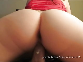 selena22 - Creamy Pussy, Lazy Riding, and Thick Cream Pie