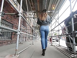 Petite Latina in Jeans - CANDID Beauty