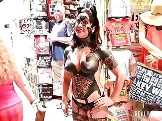 Fantasy Fest 19 Street Flashing Party Sluts NEW