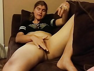 Your whore wife is fingering herself on the internet