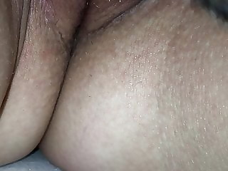 Licking wife to silent orgasm
