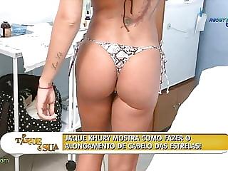 Jaque Khury Samba A Tarde e Sua RedeTV 2010