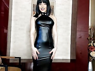 Black Leather Tease