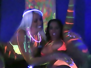 Blacklight Foursome Part 1