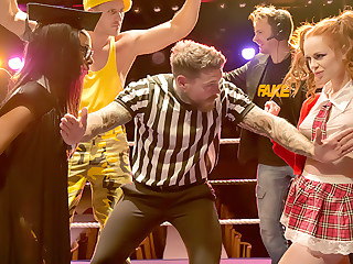 Knockouts: The Headmistress Vs Teen Machine